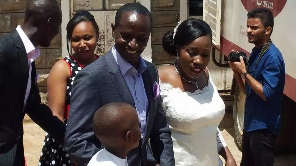 Photos: Wilson Sossion's grand wedding reception at his home
