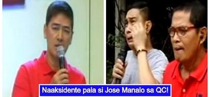 Jose Manalo naging 'emosyonal' sa pagkwento ng kinasangkutang aksidente sa Quezon City
