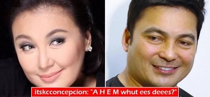 'Maybe this time' ang peg? Megastar Sharon Cuneta thanks ex-husband Gabby Concepcion for sending her durians and he replies with much kilig vibes!