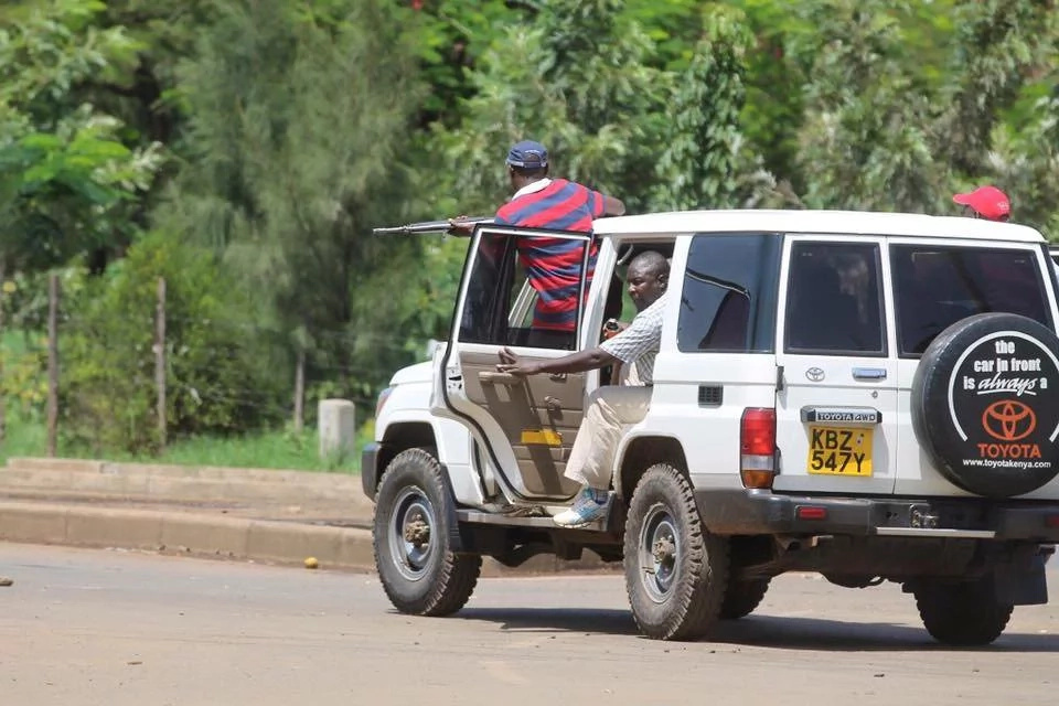 Photos:see the photos of officers who shot protesters in Kisumu