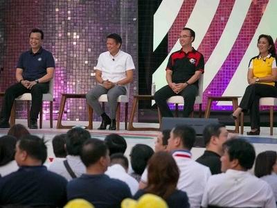 Bongbong skips debate; other VP bets, netizens react