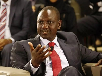 You can never guess where Ruto was when his party was being dissolved