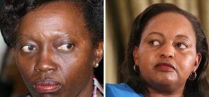 Anne Waiguru causes drama during Jubilee nominations