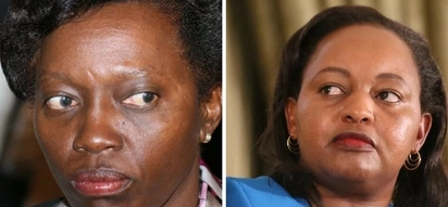 Anne Waiguru supporters cause tension outside court, block Martha Karua