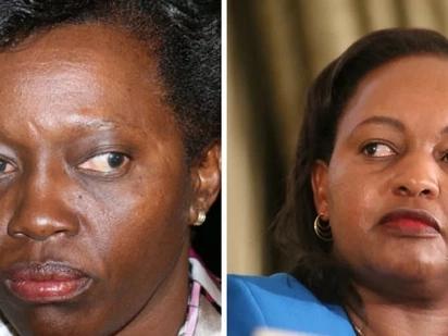 Anne Waiguru supporters cause tension outside court, block Martha Karua