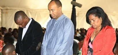 4 utterly creepy photos of the burly thug who carjacked  Peter Kenneth's wife