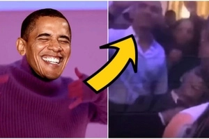 Obama Dancing To
