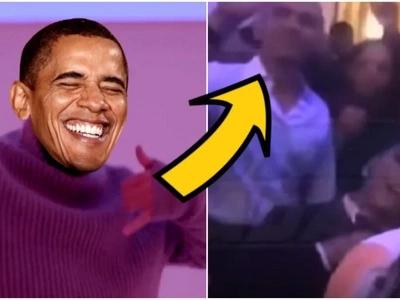 Obama Dancing To