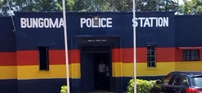 Bungoma police rescue principal after parents kick him out of office over poor KCSE results
