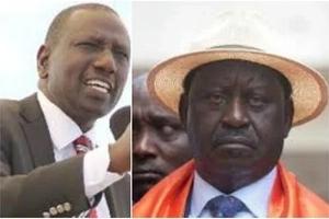 Deputy President William Ruto's tough queston to Raila over land issue