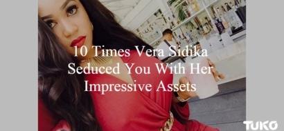 10 Times Model Vera Sidika Seduced You With Her Impressive Assets (PHOTOS 18+)