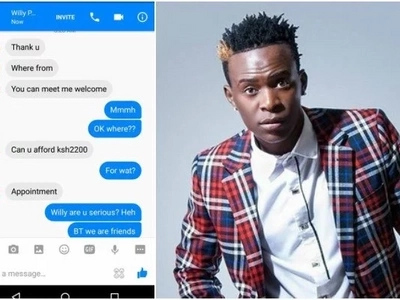 Oh My! Willy Paul badly exposed for trying to extort a fan