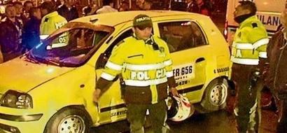 Un escarmiento bien aplicado: Los taxistas obligaron a este hombre a caminar desnudo, cuando intentó robarlos