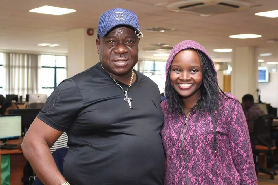 Popular Nigerian actor MR. Ibu now In Kenya (photos)