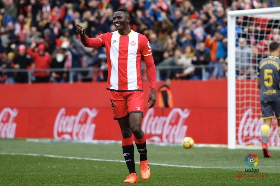 Olunga called a monkey after getting substituted in Girona's devastating loss to Sevilla in La Liga