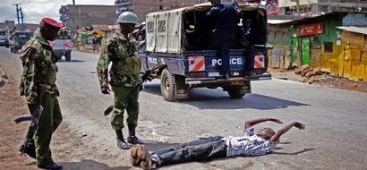 Eastleigh gang attacks in broad daylight as residents watch (video)