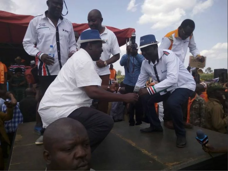 Raila Odinga must now start behaving like a candidate who's about to win the presidency