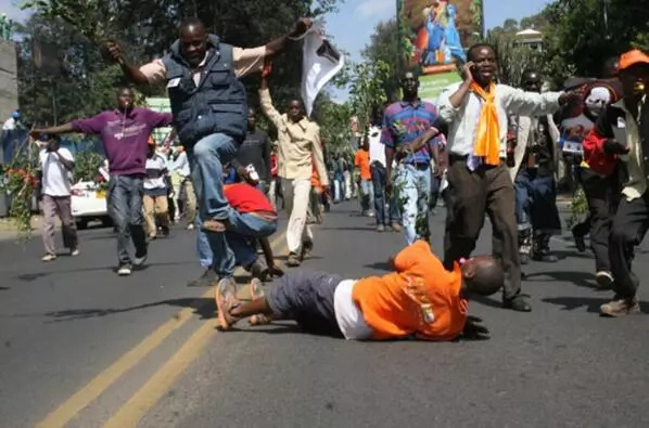 ODM governor's office invaded by youth