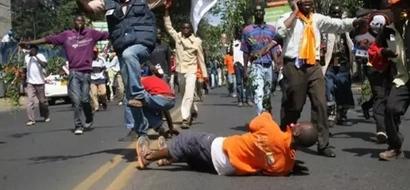 Mgombea ubunge wa ODM aandikisha taarifa baada ya kuvuta gesi hatari