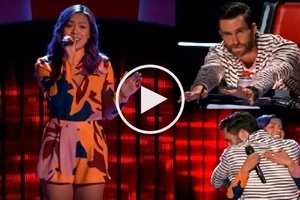 Talented Fil-American girl stuns 'The Voice USA' coaches with powerful cover of 'Happy'