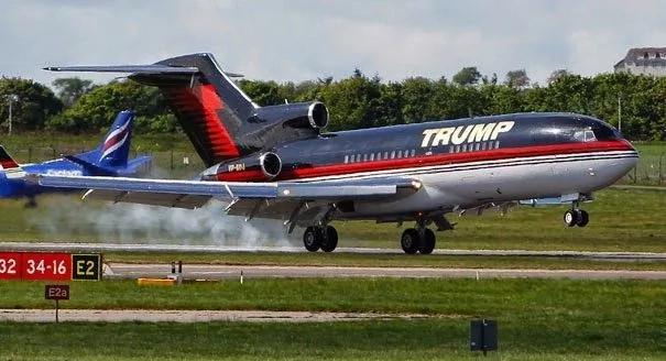 Ndani ya ndege ya Donald Trump