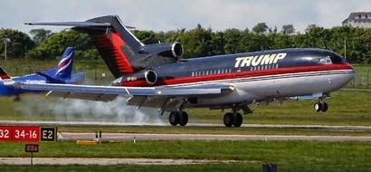 See inside Trump Force One, the official plane of Donald Trump