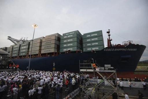 Se inaugura nueva esclusa del Canal de Panamá