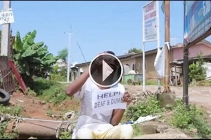 FUNNY VIDEO: This man pretended to be deaf and dumb until THIS happened