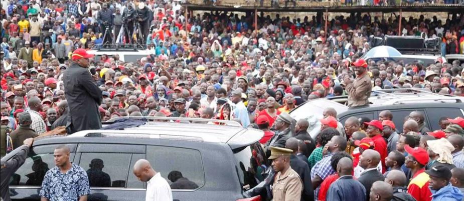 Do not be misled into boycotting the October 26 election - UhuRuto pleads with Luhya community