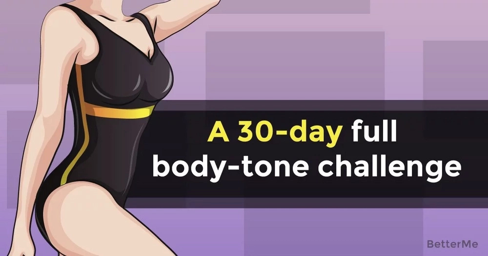 A 30-day full body-tone challenge