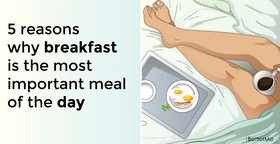 5 reasons why breakfast is the most important meal of the day