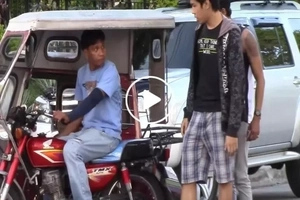 This tricycle driver thought they're asking for a real ride...the truth will make you laugh!