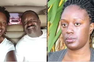 Raila shares first photo of his ailing daughter Rosemary from a South African hospital