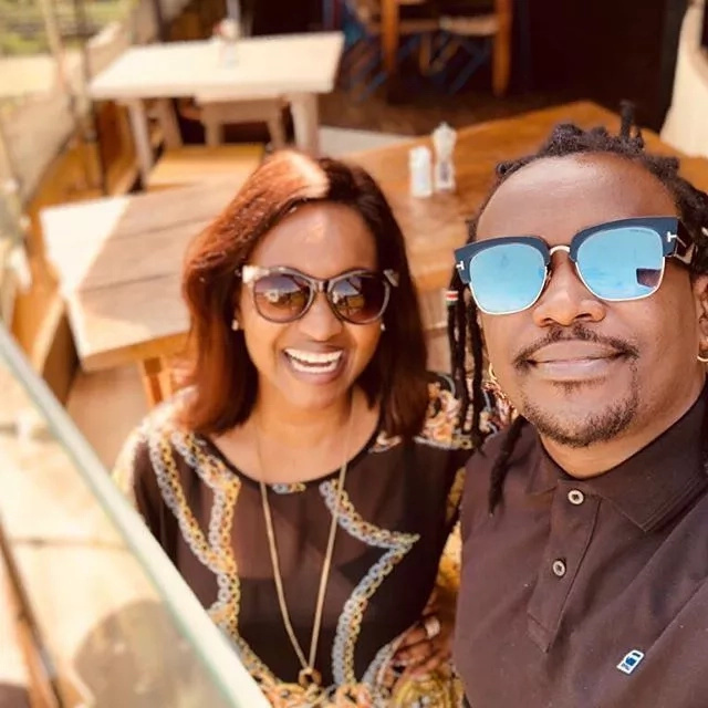 Voluptous Grace Msalame's photo with Nyanshinski sends fans into a frenzy with dating claims