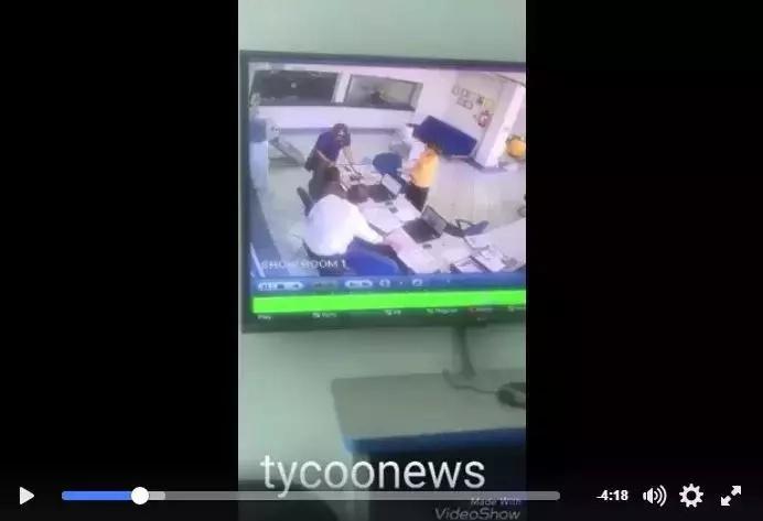 VIDEO kushtua ya wezi wa KIHINDI walioba kwa duka Mombasa kwa kutumia JUJU
