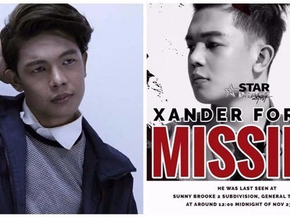 "NAWAWALA? Star Image Artist Management recently posted ""XANDER FORD IS MISSING!"""