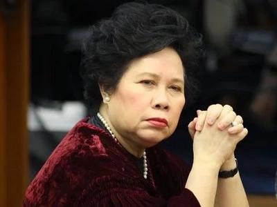 Political life is 'soul-devastating' – Miriam Santiago