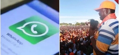 Details of how NASA will use WhatsApp to stop Jubilee from rigging