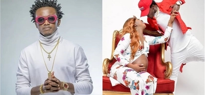 Leave my family alone! Gospel singer Bahati barks after reports he questioned his month old daughter's paternity