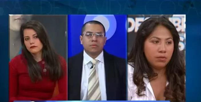 Captura de video, La amante, Juan y Luz