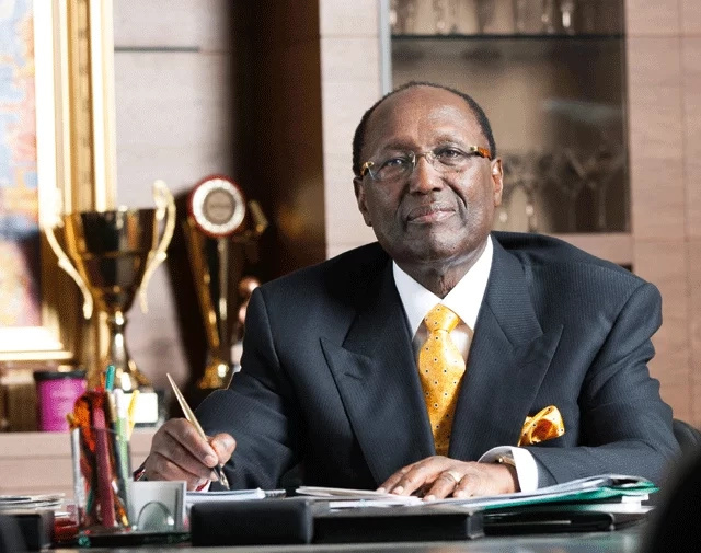 Kenyan billionaire tycoon Chris Kirubi rubbished calls to run for president in 2017
