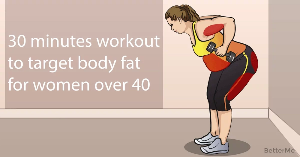 20 moves to target body fat for women over 40 years old