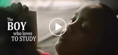 Studious Cebuano street kid goes viral again in McDonald's latest ad