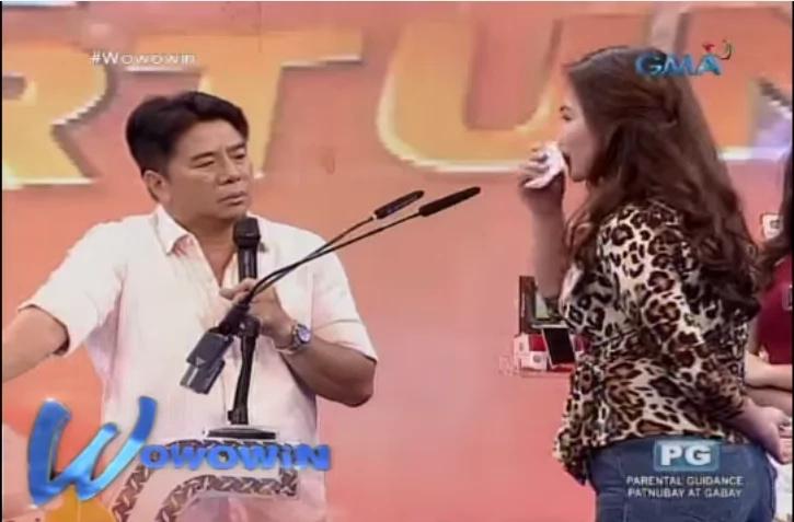 Igorot female contestant earns praises from Willie Revillame