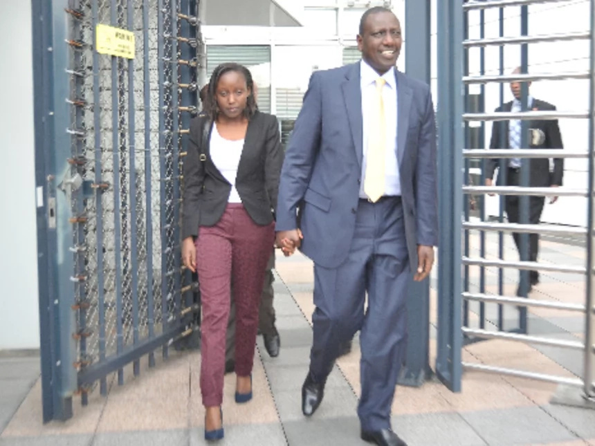 Man who was rumoured to be dating Ruto's daughter shows off his fiancee