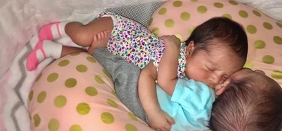 These twins roll around in the MOST CUTE of ways! (photos)