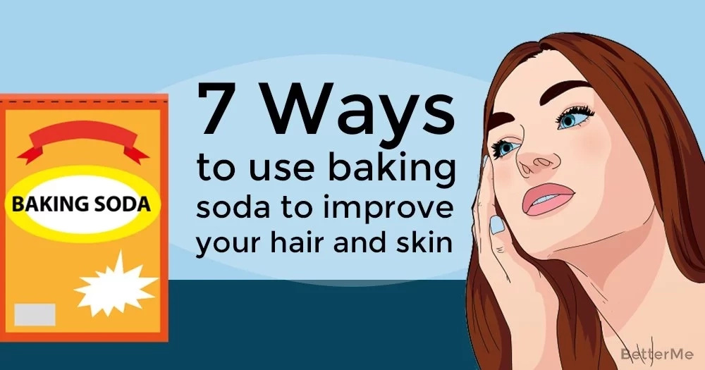 7 ways to use baking soda to improve your hair and skin