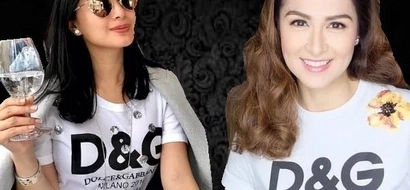 Stefano Gabbana confirmed Heart Evangelista and Marian Rivera's G&B shirts are authentic.