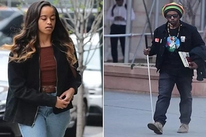 Malia Obama's stalker, aged 30, who pretended to be blind and begged her to MARRY him is detained (photos)