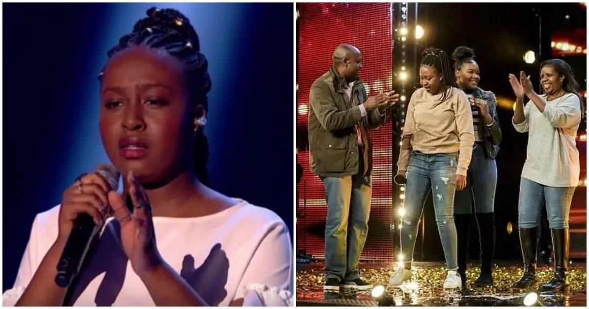 16-year-old girl with African roots dazzles Britain's Got Talent show in semi-final performance (photos, video)